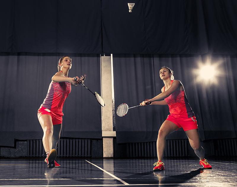 Joueuses de badminton